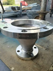 Fabrication of Stainless Steel Reducer