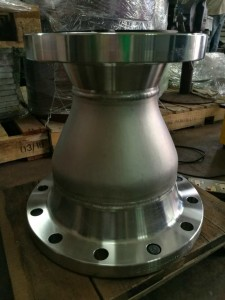 Fabrication of Concentric Reducer